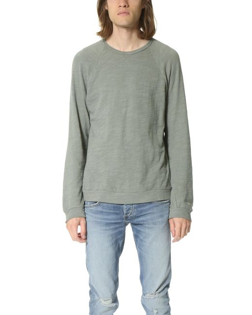 Rag & Bone | Gray Long Sleeve Raglan T-shirt for Men | Lyst