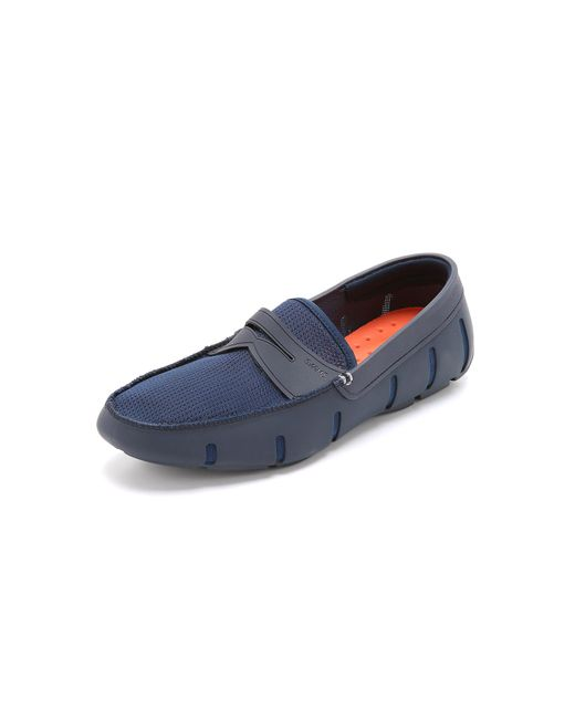 Swims | Blue Penny Loafers for Men | Lyst
