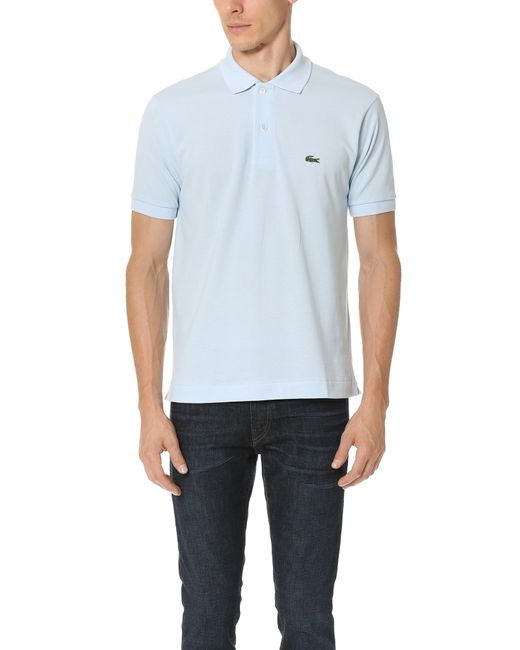 Lacoste | Blue Short Sleeve Classic Polo Shirt for Men | Lyst