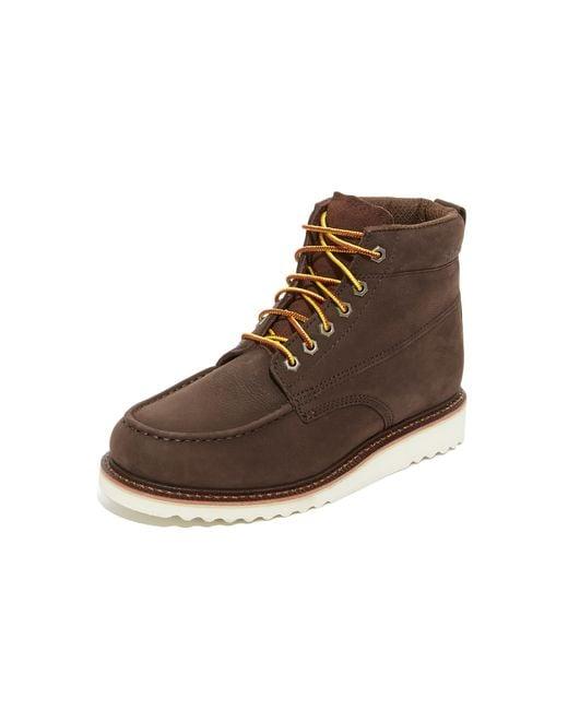 Wolverine Ranger Moc Toe Boots In Brown For Men Lyst