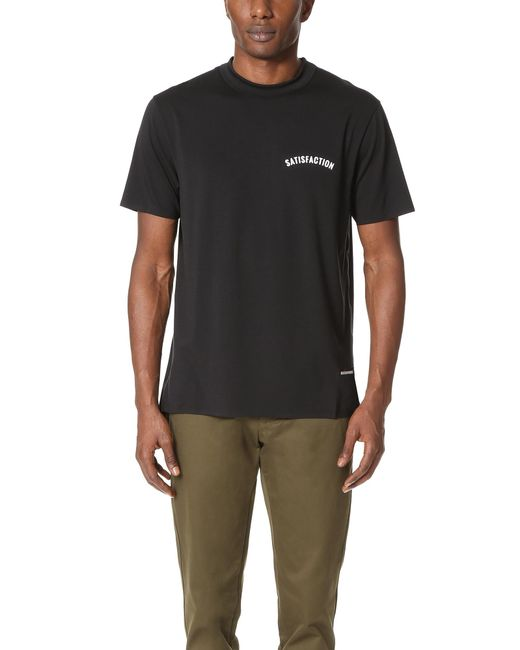 Satisfy | Black Satisfaction Short Tee for Men | Lyst