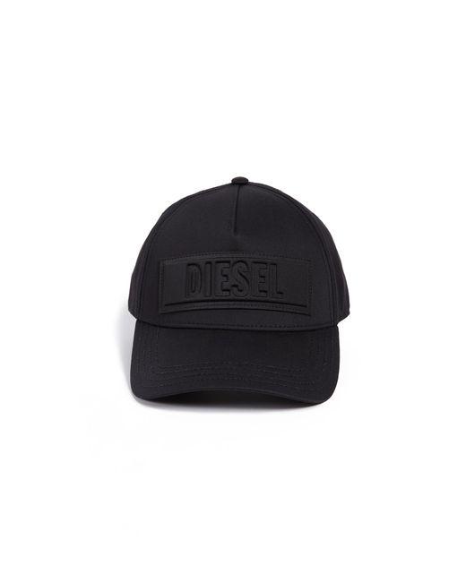 6072697419658 ... DIESEL - Black C-sel Logo Hat for Men - Lyst