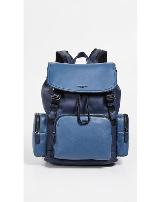 c7c679404932 Michael Kors - Blue Henry Rucksack for Men - Lyst ...