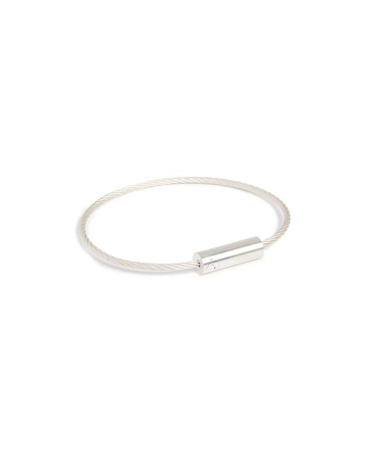 Le Gramme - Metallic 7 Grammes Brushed Cable Bracelet for Men - Lyst