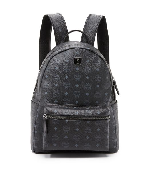 24ab98feb23f MCM - Black Stark Medium Backpack for Men - Lyst ...
