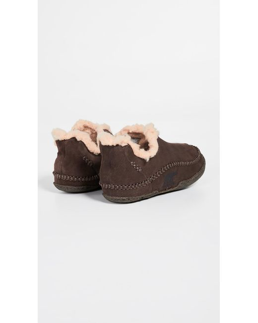 ab72dc85e61f ... Sorel - Brown Manawan Slippers for Men - Lyst ...