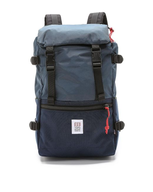 Topo Designs - Blue Rover Pack (forest/black) Backpack Bags for Men - Lyst