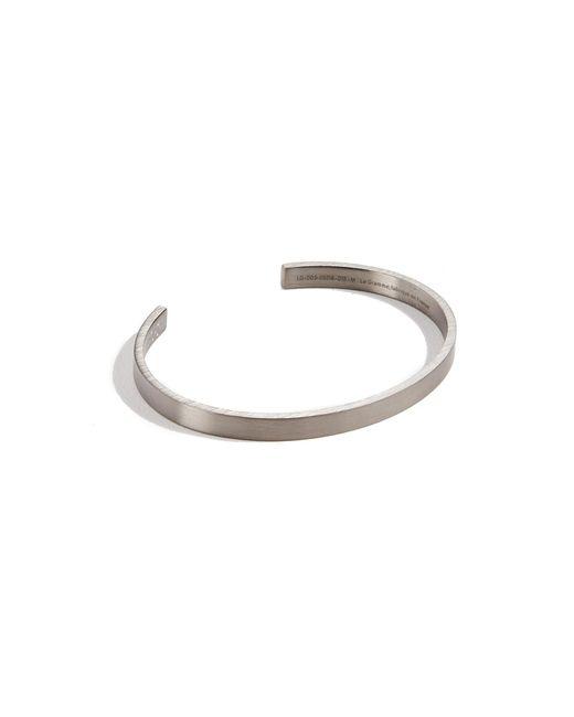 Le Gramme - Metallic 15 Grammes Brushed Bracelet for Men - Lyst