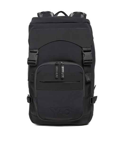 Y-3 | Black Ultratech Backpack for Men | Lyst