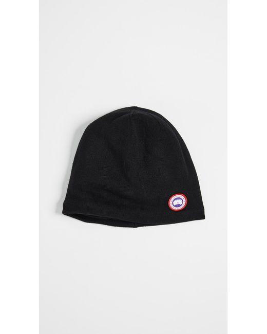 Canada Goose - Black Standard Toque Hat - Lyst