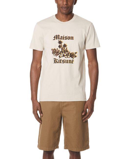 Maison Kitsuné - Multicolor 3d Bird Tee for Men - Lyst