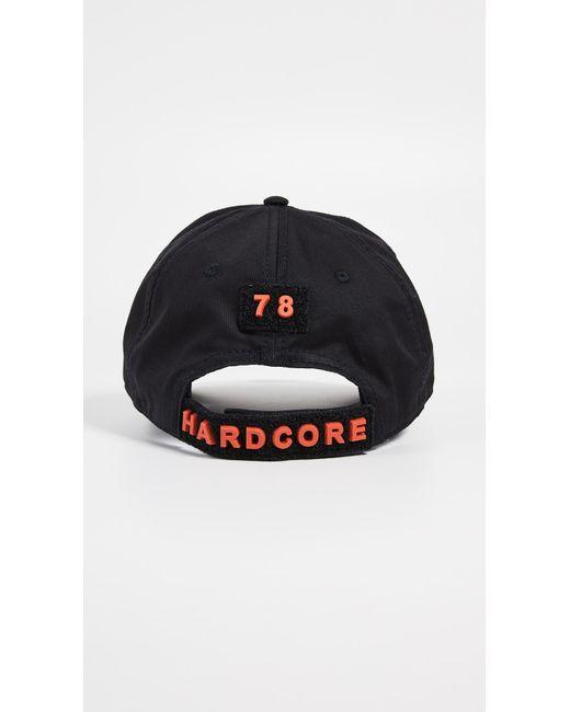 bf33fc1ac17c0 ... DIESEL - Black C-sel Logo Hat for Men - Lyst ...