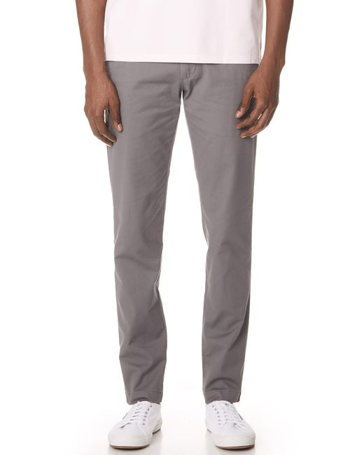 Club Monaco - Gray Connor Stretch Chinos for Men - Lyst