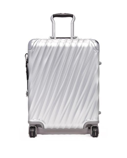 Tumi - Metallic 19 Degree Aluminum Continental Carry On Suitcase for Men - Lyst