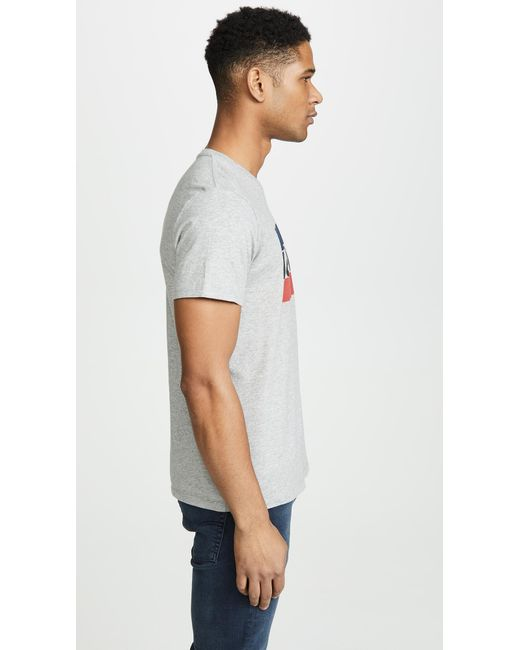 bb9d83790 Lyst - Levi s Levis Sport Graph Short Sleeve T-shirt in Gray for Men ...
