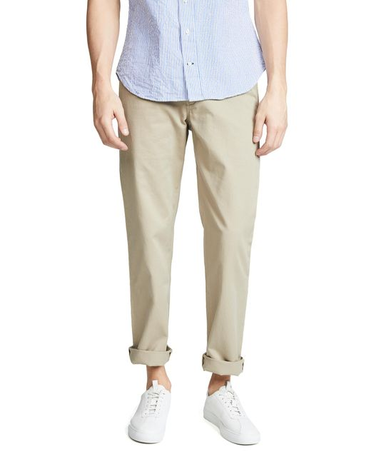 4b069c4ab51 ... Polo Ralph Lauren - Natural Classic Fit Chino Pants for Men - Lyst