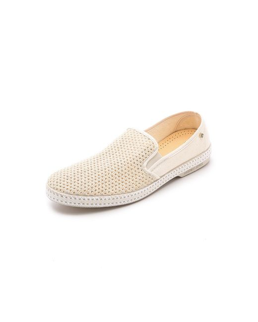 Rivieras - Natural Classic 20 Slip Ons for Men - Lyst