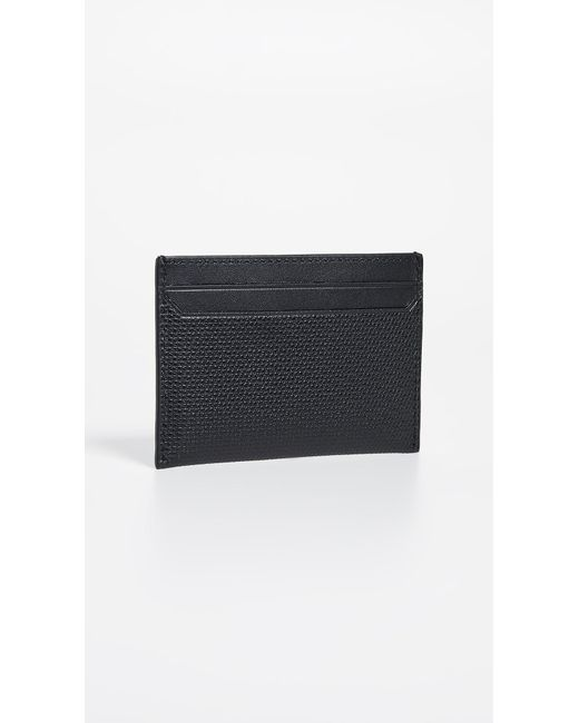 8fef1ec3ec7b ... Tumi - Black Monaco Slim Card Case for Men - Lyst ...