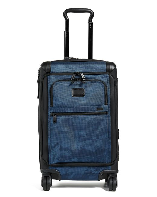 Tumi - Blue International Front Lid Carry On Suitcase for Men - Lyst