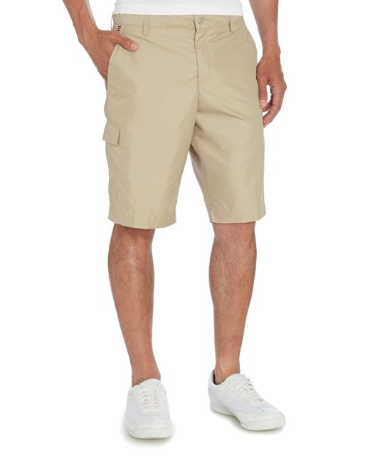 J.Lindeberg | Natural Lawrence Micro Twill Short for Men | Lyst