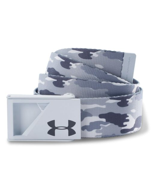 Under Armour | White Range Webbing Belt for Men | Lyst