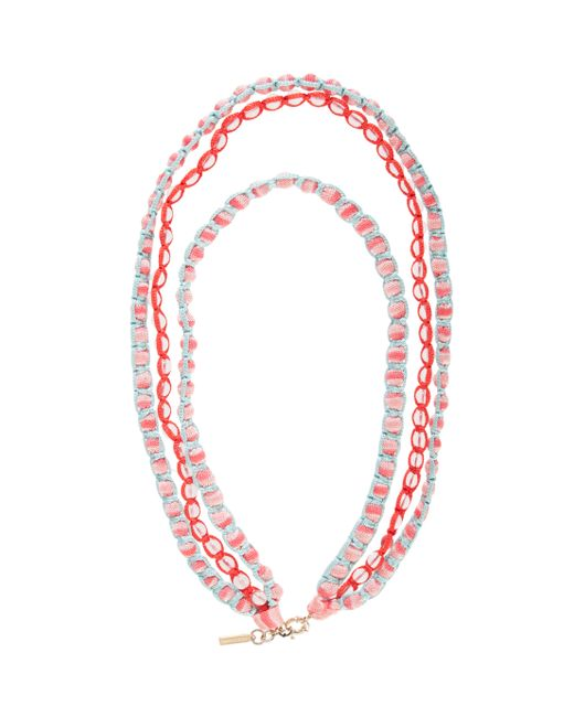 Missoni | Pink Beaded Necklace | Lyst