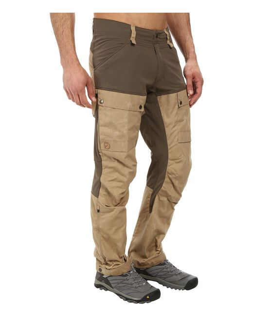 Fjallraven Keb Trousers In Natural For Men Lyst