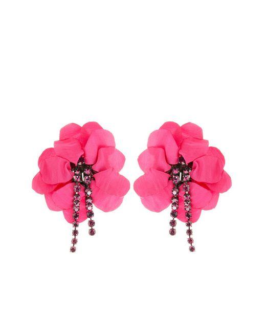Lanvin | Purple Earrings | Lyst