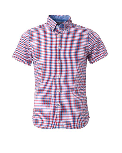 Tommy Hilfiger Owen Gingham Check Shirt In Multicolor For