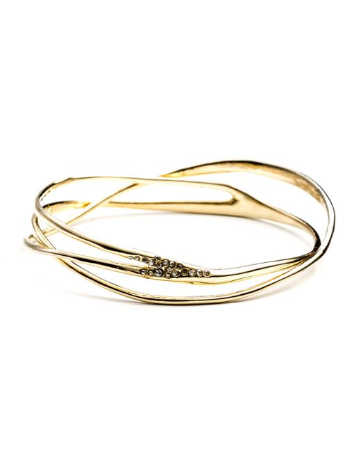 Alexis Bittar | Metallic Gold Interlaced Bangle You Might Also Like | Lyst