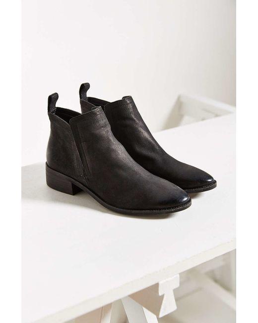 Dolce Vita   Black Tessey Ankle Boot   Lyst