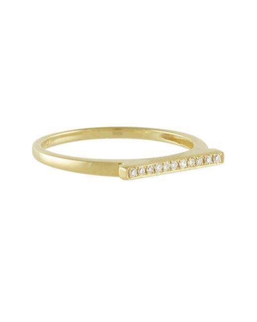 Dana Rebecca | Metallic Yellow Gold Sylvie Rose Ring | Lyst