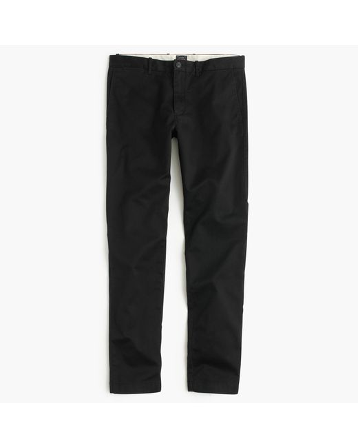 J.Crew | Black Stretch Chino In 484 Fit for Men | Lyst