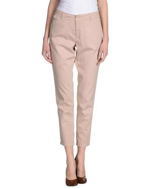 Kubera 108 | Natural Casual Pants | Lyst