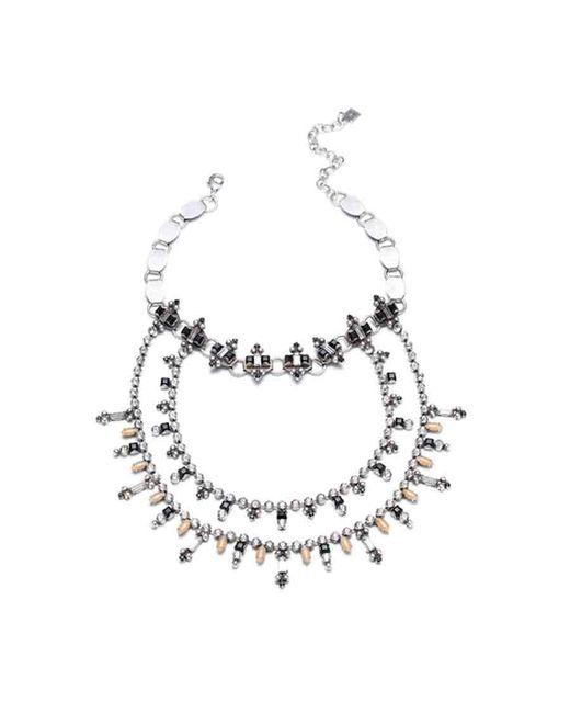 DANNIJO | Metallic Jolie Necklace | Lyst