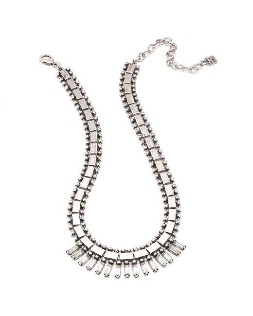 DANNIJO - Metallic Caius Necklace - Lyst