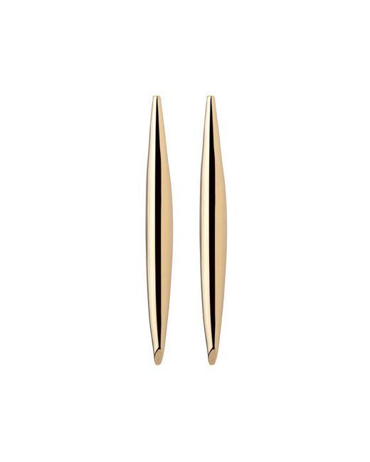 Jennifer Fisher - Metallic Smooth Slice Earrings - Lyst