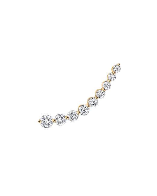 Anita Ko | Metallic Yellow Gold Floating Diamond Earring | Lyst