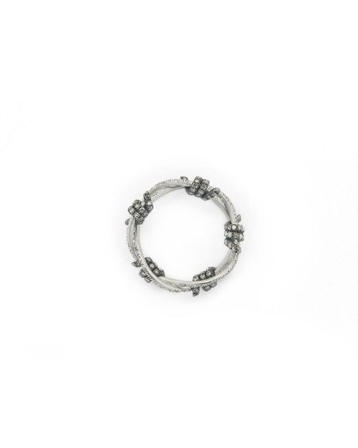 Lauren X Khoo | Editorialist Exclusive: Liberation 5-wire White Gold Ring | Lyst