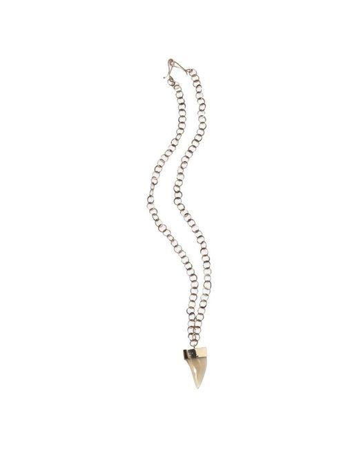 Melissa Joy Manning | Metallic Gold And Opal Freeform Necklace | Lyst