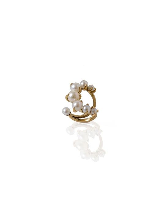 Ana Khouri | Metallic Pearl Time Ring | Lyst