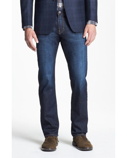 AG Jeans | Blue Graduate Slim Straight Leg Jeans for Men | Lyst