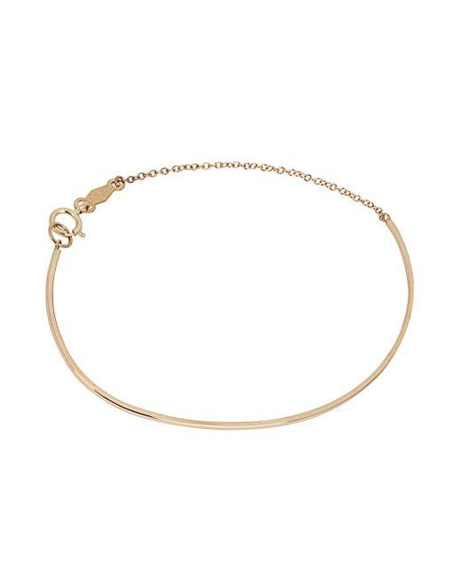Catbird   Metallic Ballerina 14kt Gold Bracelet   Lyst