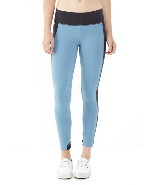 Alternative Apparel | Blue Lean Into It Stretch Leggings | Lyst