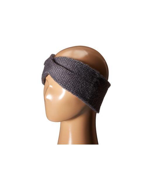 Hat Attack | Gray Twisted Headband | Lyst