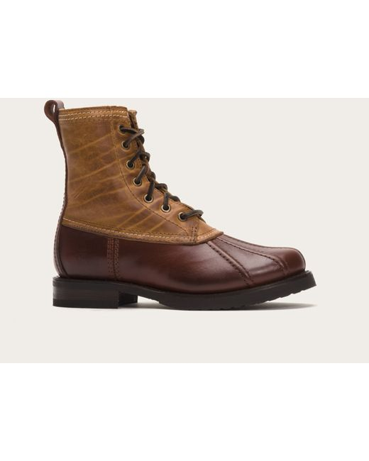 Frye | Brown Veronica Duck Boot Shearling | Lyst