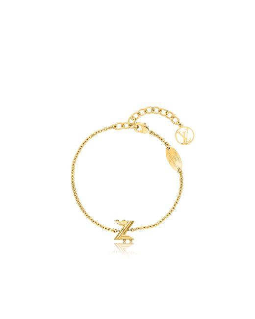 Louis Vuitton | Metallic Lv & Me Bracelet, Letter Z | Lyst