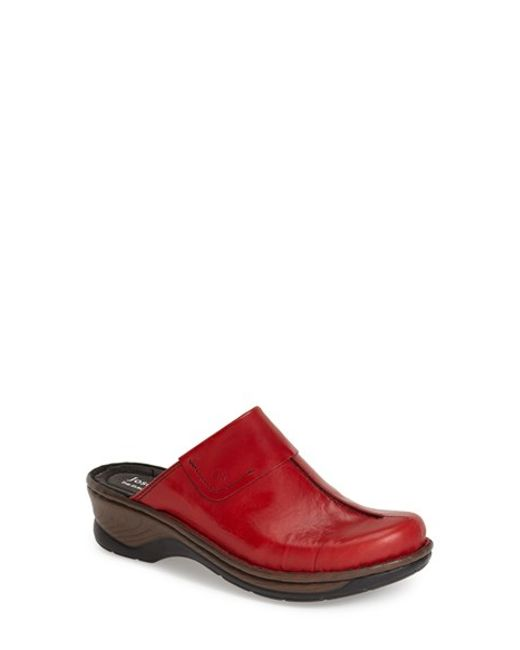 Josef Seibel | Pink Carole Leather Mules | Lyst