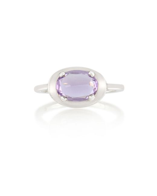 Anna Sheffield   Purple Amethyst Classic Amulet Ring   Lyst