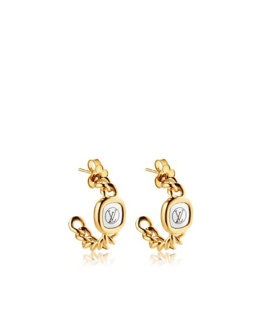 Louis Vuitton | Metallic I.d. Earrings | Lyst
